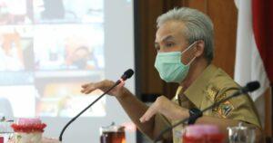 Gubernur Ganjar Ungkap Kesiapan PPKM Tahap Pertama di Jateng