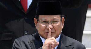 Elektabilitas Ganjar Pranowo Anjlok, Menhan Prabowo di Posisi Teratas