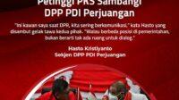 PDI Perjuangan dan PKS
